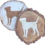beagle-coasters-wood
