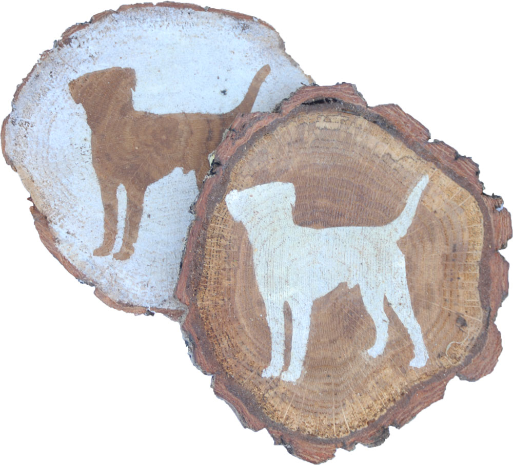 beagle-coasters-wood