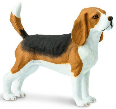 Beagle Figurine Toy 1