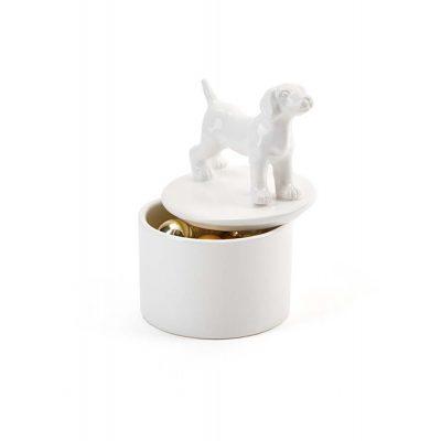 Beagle Jewelry Box Porcelain 1