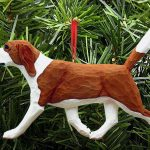 Beagle Ornament Red 1