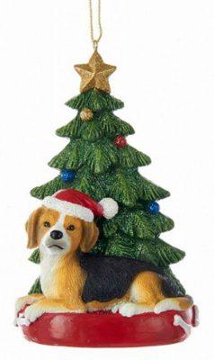 Beagle Christmas Tree Ornament 1
