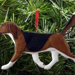 Beagle Ornament Tri 1