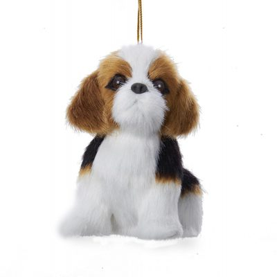Beagle Plush Ornament 4 Inches