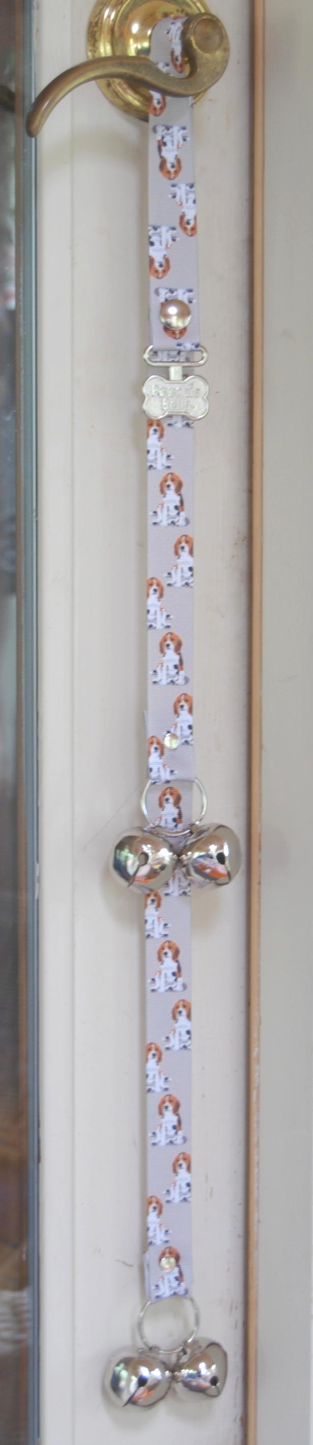 Beagle Puppy Dog Potty Training Doorbells Poochie Bells