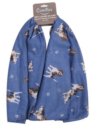 Beagle Scarf -Lightweight Cotton Polyester