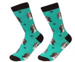 Beagle Face Pattern Socks