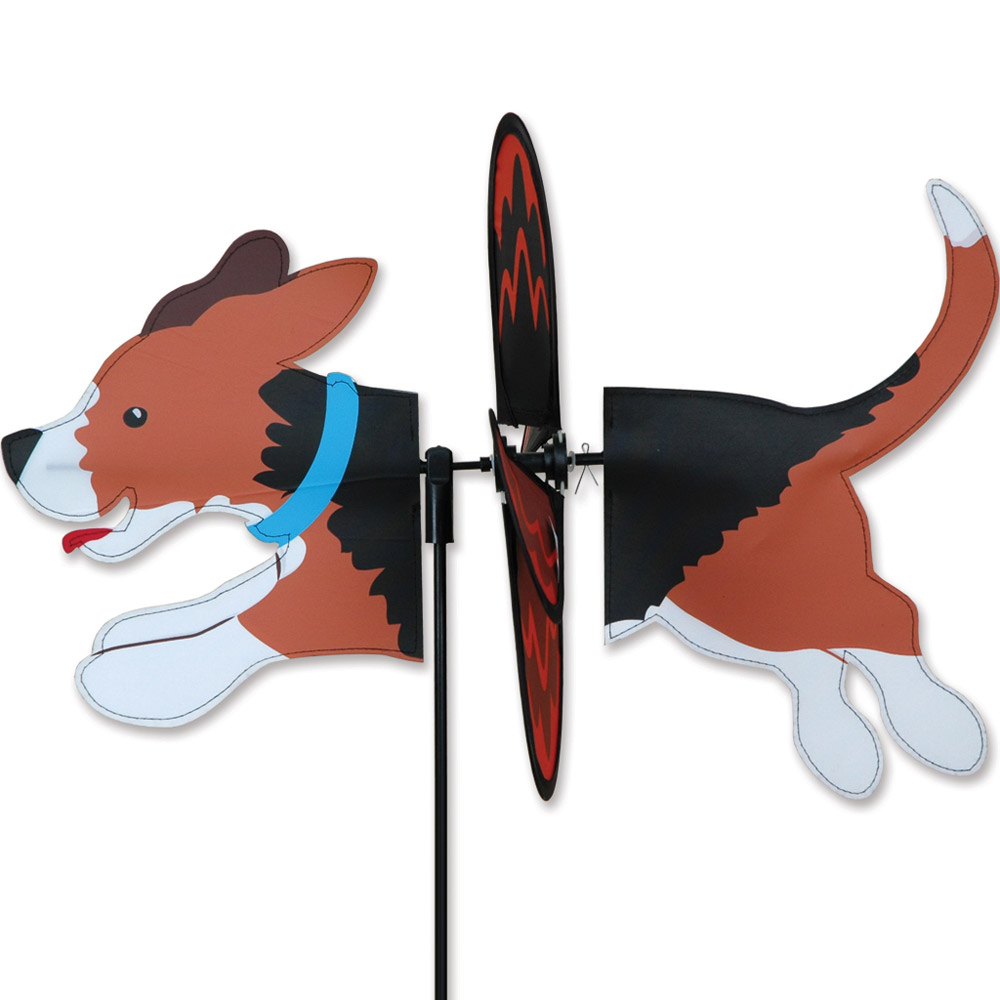 Beagle Garden Wind Spinners