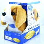 beagle-stuffed-animal-barking-dog