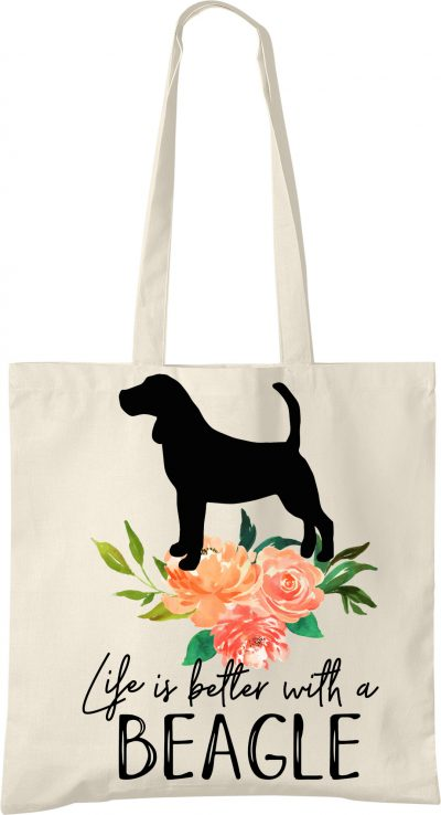 Beagle Life is Better Tote