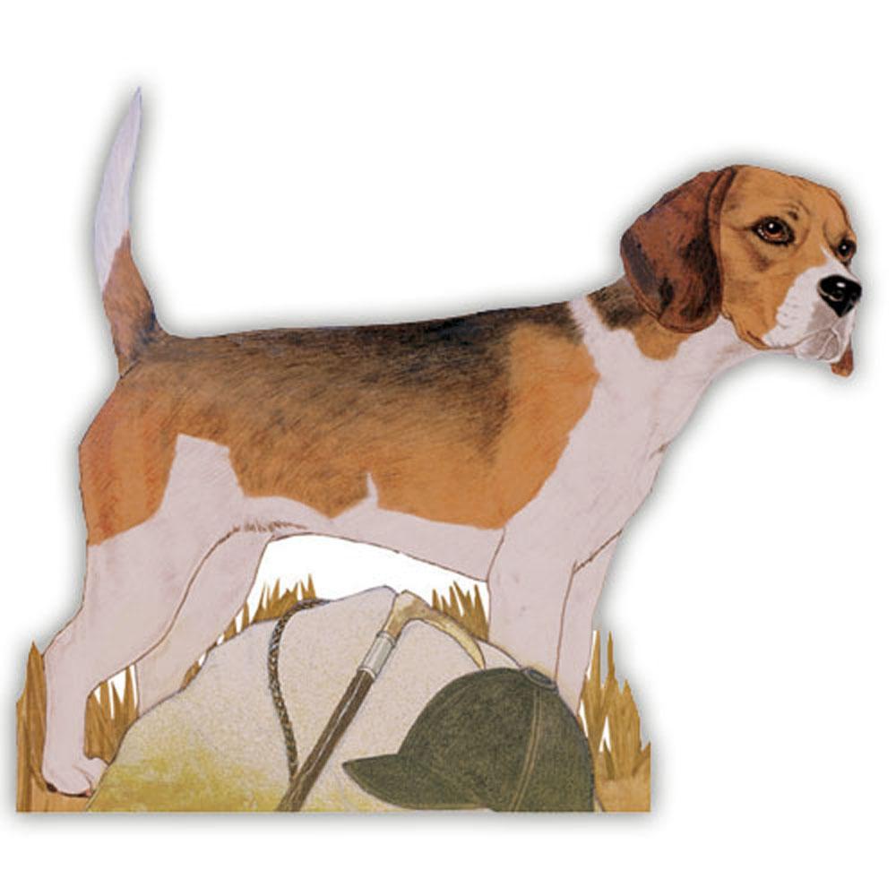 Beagle Wooden Magnet