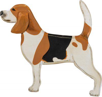 Beagle Wood Wall Plaque Figure
