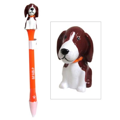 beagle-writing-pen-animated