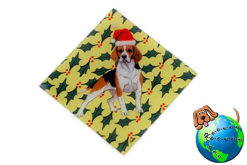 beagle_crystal_glass_dog_ornaments