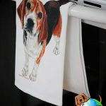 Beagle Kitchen Hand Towel 1