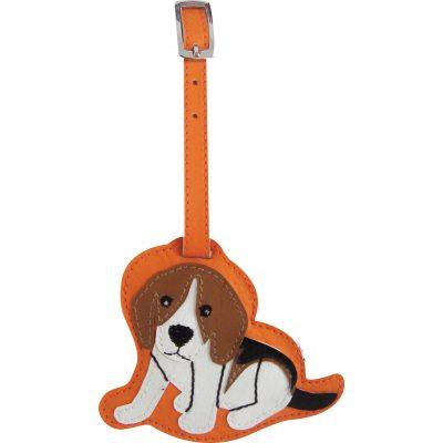 Beagle Dog Luggage Tag Briefcase Gym Backpack Travel ID 1