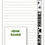 Beagle Dog Notepads To Do List Pad Pencil Gift Set 1