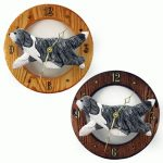 bearded-collie-clock-blue