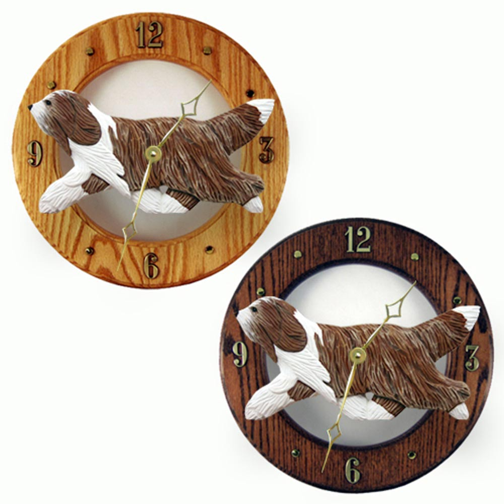 bearded-collie-clock-brown