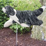 bearded-collie-figurine-sign-blue