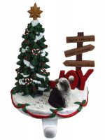 Bearded Collie Stocking Holder Hanger