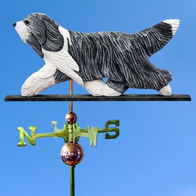 bearded-collie-weathervane-blue