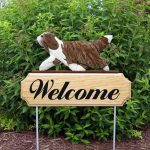bearded-collie-welcome-sign-brown