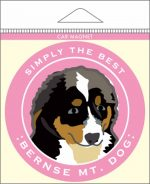 Bernese Mountain Dog Car Magnet