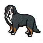 Bernese Mountain Dog Iron on Embroidered Patch