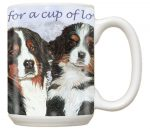Bernese Mountain Dog Mug 15 Ounces
