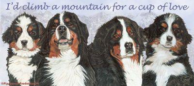 Bernese Mountain Dog Mug 2