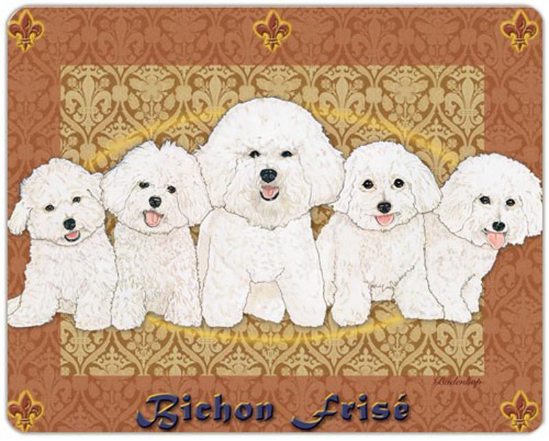 bichon-frise-cutting-board