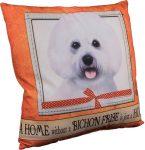 Bichon Frise Pillow 16x16 Polyester