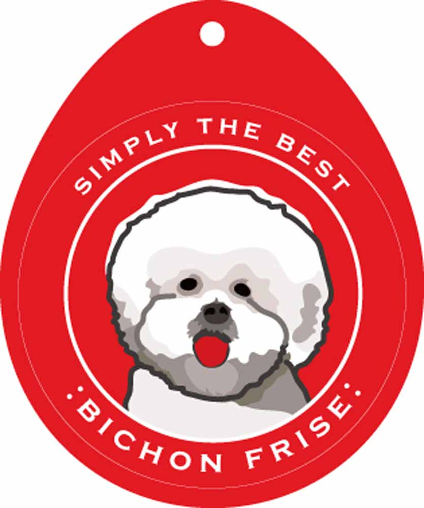 Bichon Frise Sticker 4×4