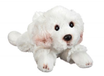 Bichon Frise Stuffed Animal Bean Bag