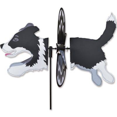 Border Collie Garden Wind Spinners 1