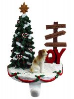 Borzoi Stocking Holder Hanger