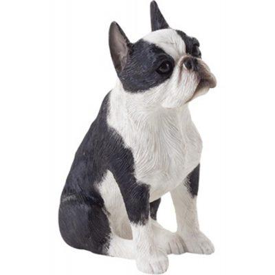 Boston Terrier Figurine Hand Painted – Sandicast 1
