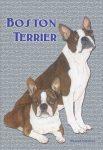 Boston Terrier Garden Flag 12.5 x 18 in