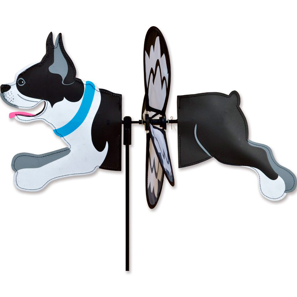 Boston Terrier Garden Wind Spinner