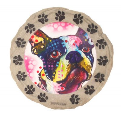 Boston Terrier Stepping Stone 1