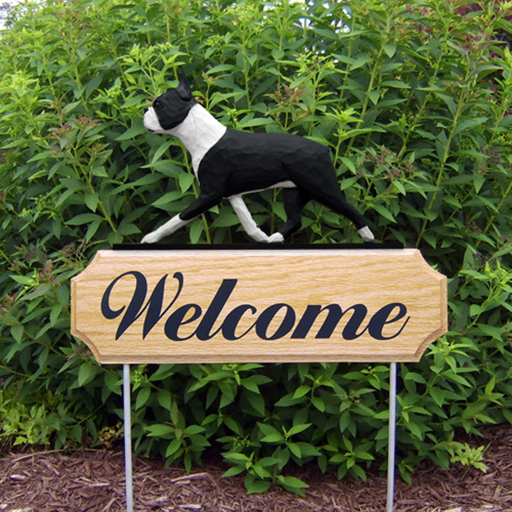 boston-terrier-welcome-sign-black