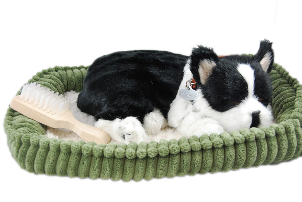 Boston Terrier Life Like Stuffed Animal Breathing Dog Perfect Petzzz