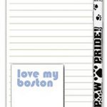 Boston Terrier Dog Notepads To Do List Pad Pencil Gift Set 1