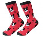 Boston Terrier Socks