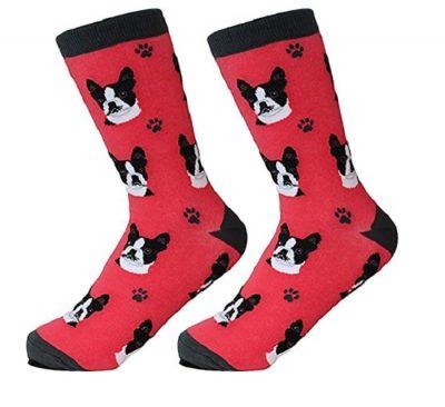 Boston Terrier Socks