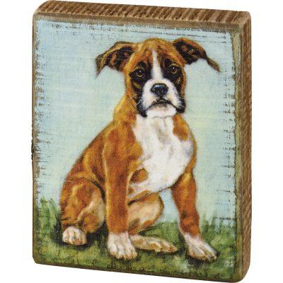 Boxer Art Block
