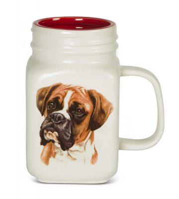 Boxer 21 Oz. Ceramic Mug Mason Jar - All You Need Is Love