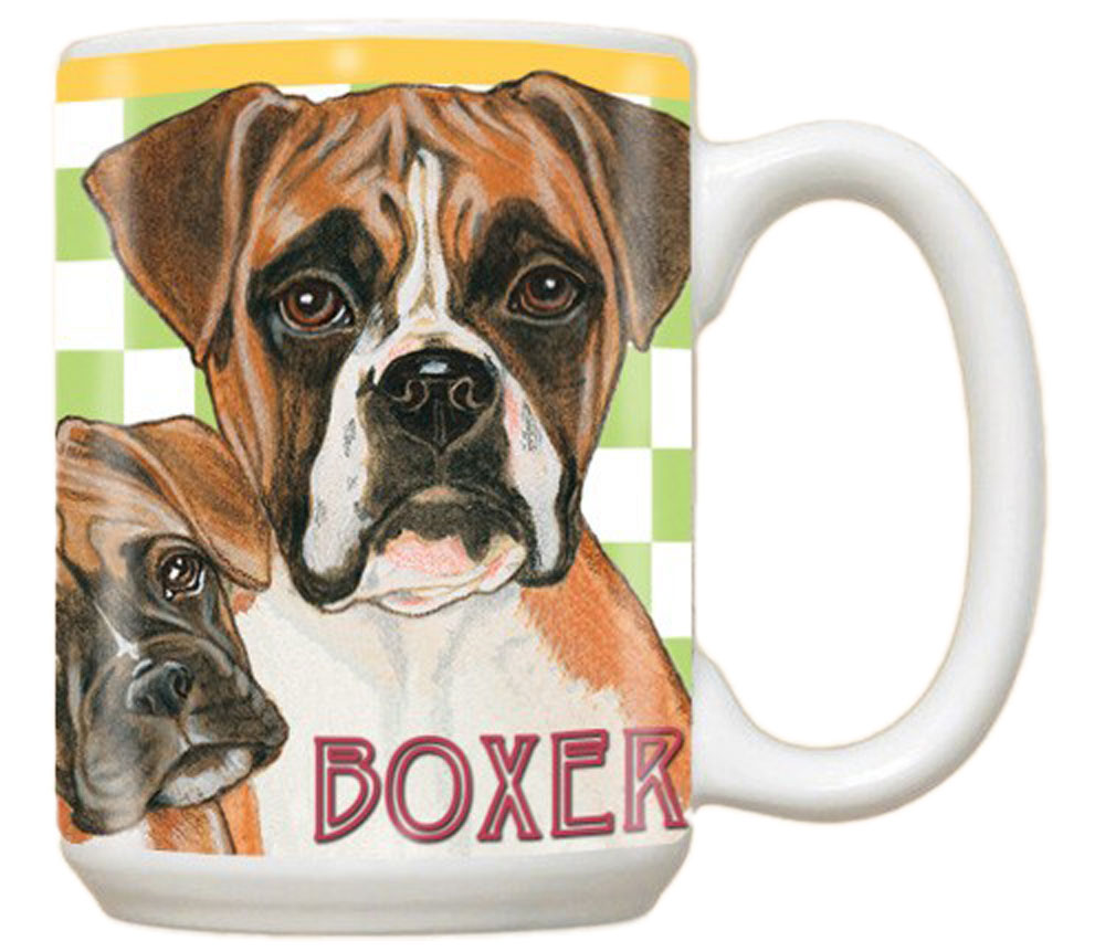 Boxer Mug 15 Ounces