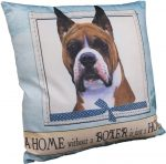 Boxer Pillow 16x16 Polyester Cropped
